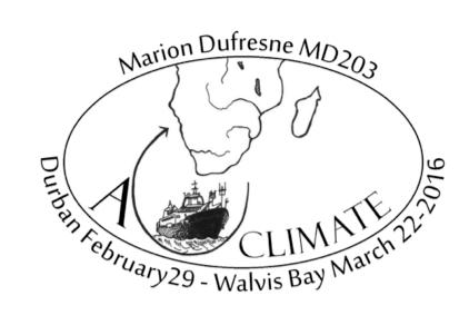 Des carottes de sédiment géantes et non déformées prélevées à grande profondeur lors de la campagne MD203-ACCLIMATE, qui s'est déroulée à bord du Marion Dufresne en Atlantique Sud-Est