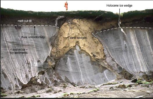 Le rôle du permafrost dans l'évolution du CO2 atmosphérique : du passé au futur