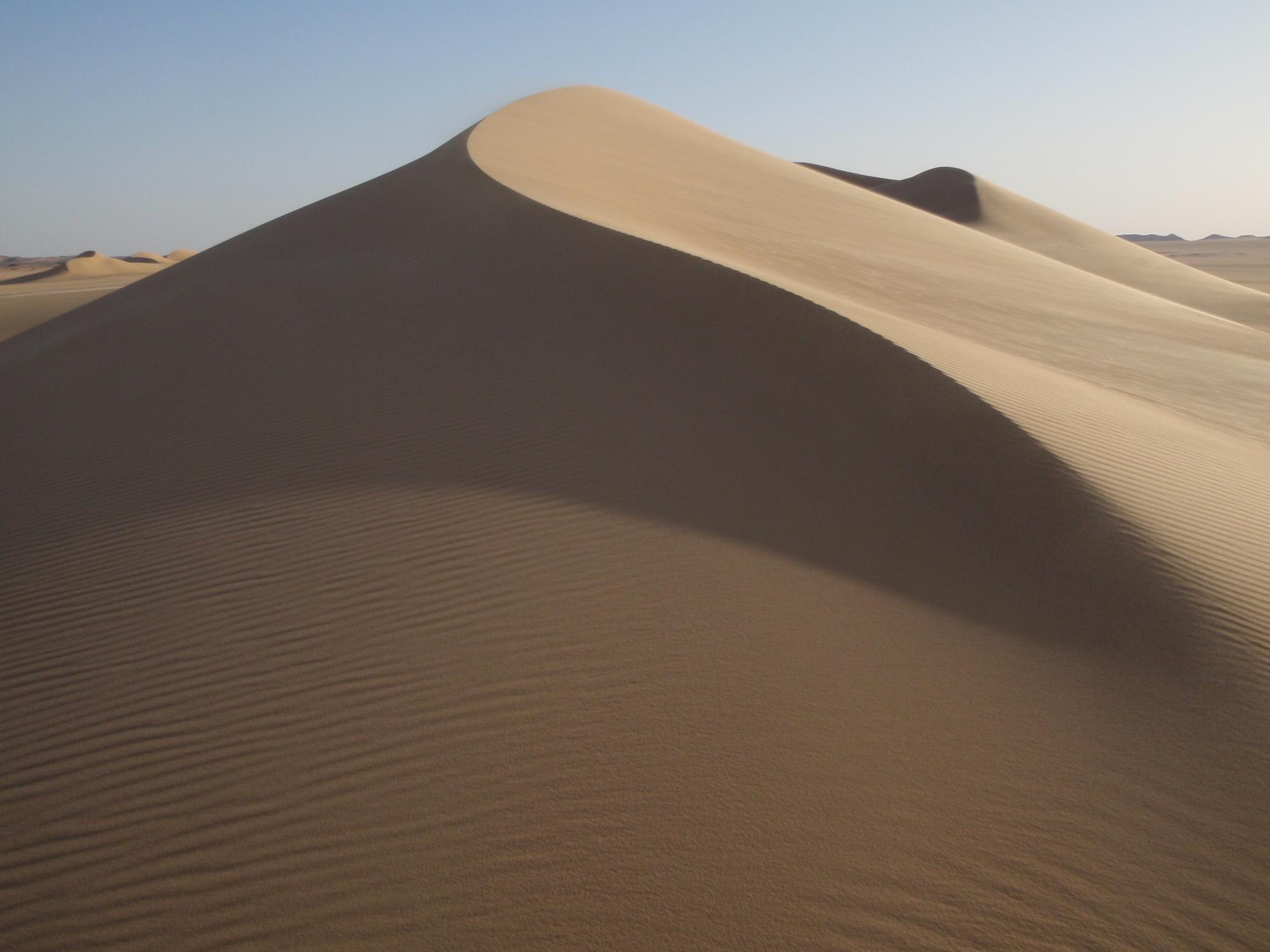 Disparition d'une mer… naissance d'un désert