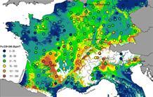 Retombées radioactives : une nouvelle carte de référence