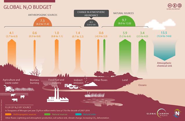 Emissions de N2O / N2O emissions and budget