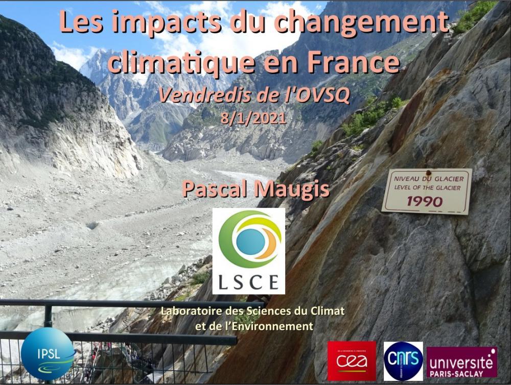 Les impacts du changement climatique en France au XXIe siècle