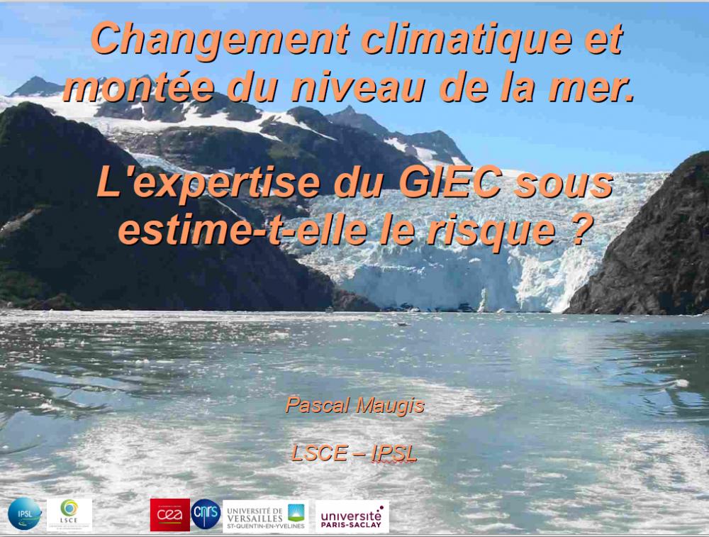 Montée du niveau marin : l'expertise du GIEC sous-estime-t-elle le risque ?